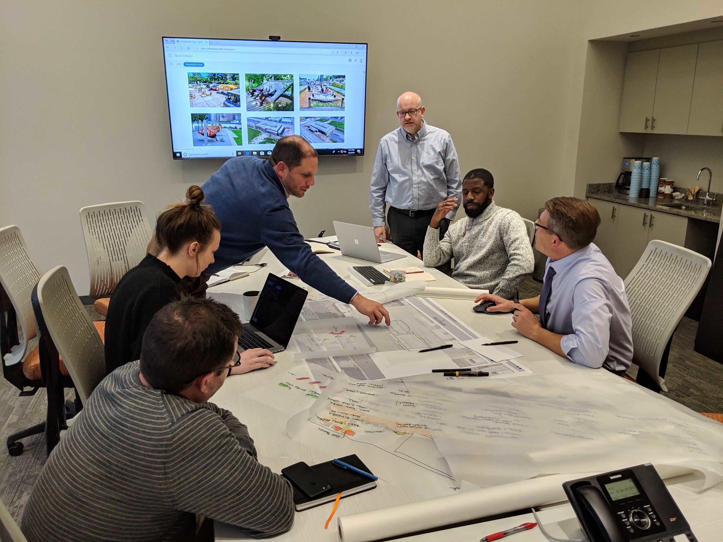 Hospitality Hub Design Charrette: Architects, Engineers, Landscape Architects, Planners, Design Strategists