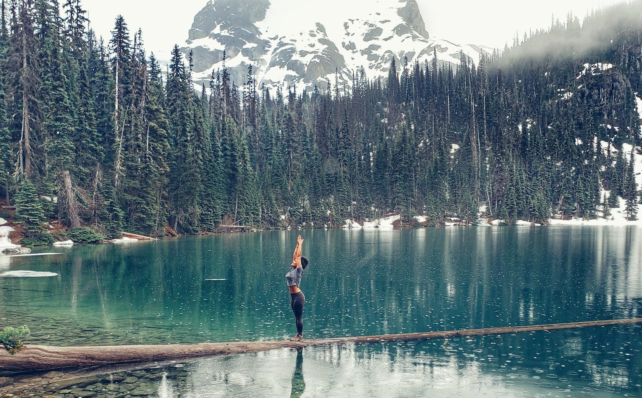 You can do yoga anywhere life takes you