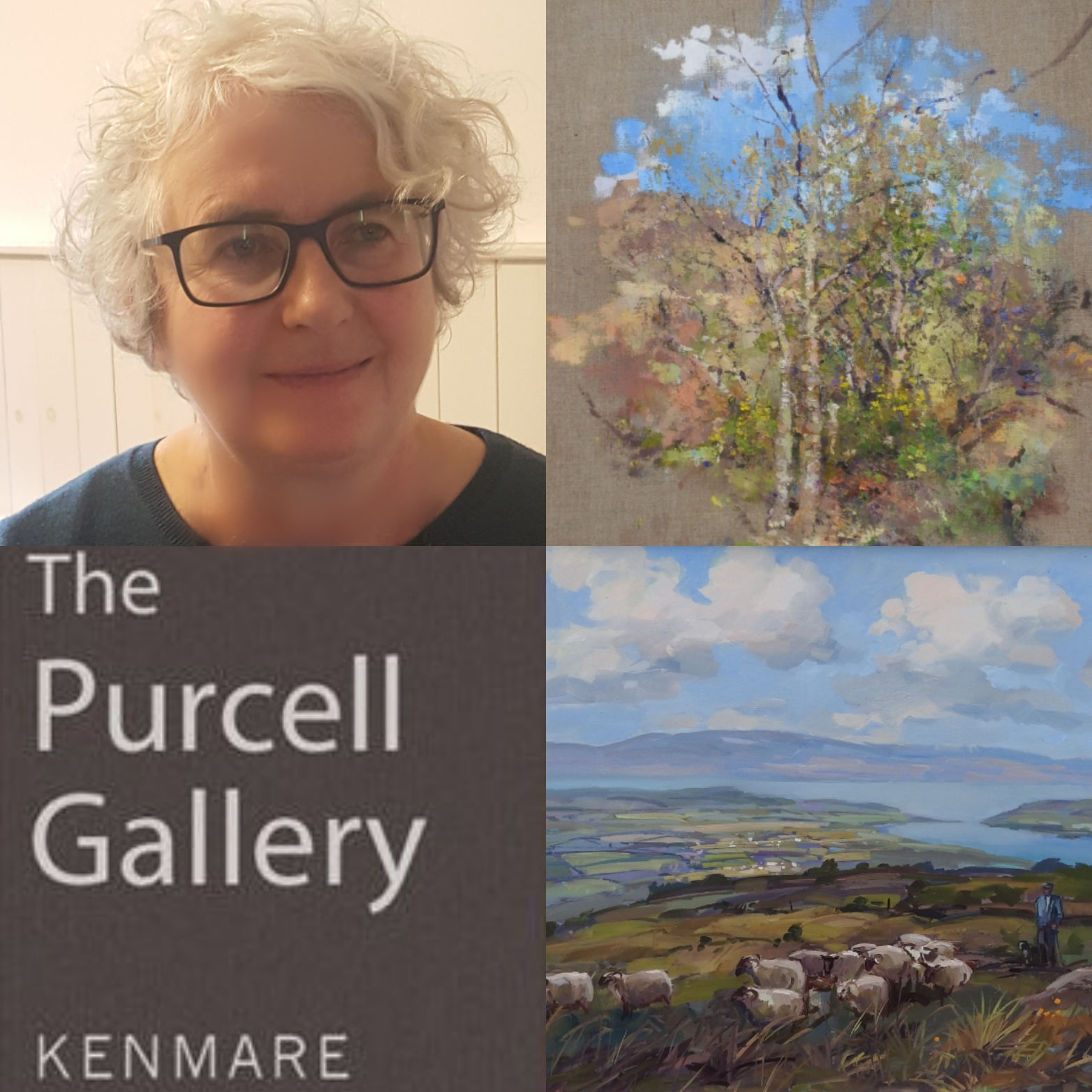 The Gallery - The Purcell Gallery is situated in the heritage town of Kenmare, in an area of enchanting beauty bridging the Iveragh and Beara peninsulas. Artists have been drawn to live and work in this area for decades, a variety of whom exhibit at the gallery.