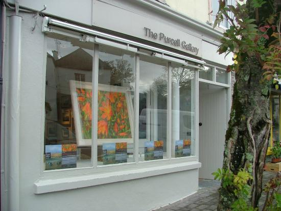 purcell gallery shopfront