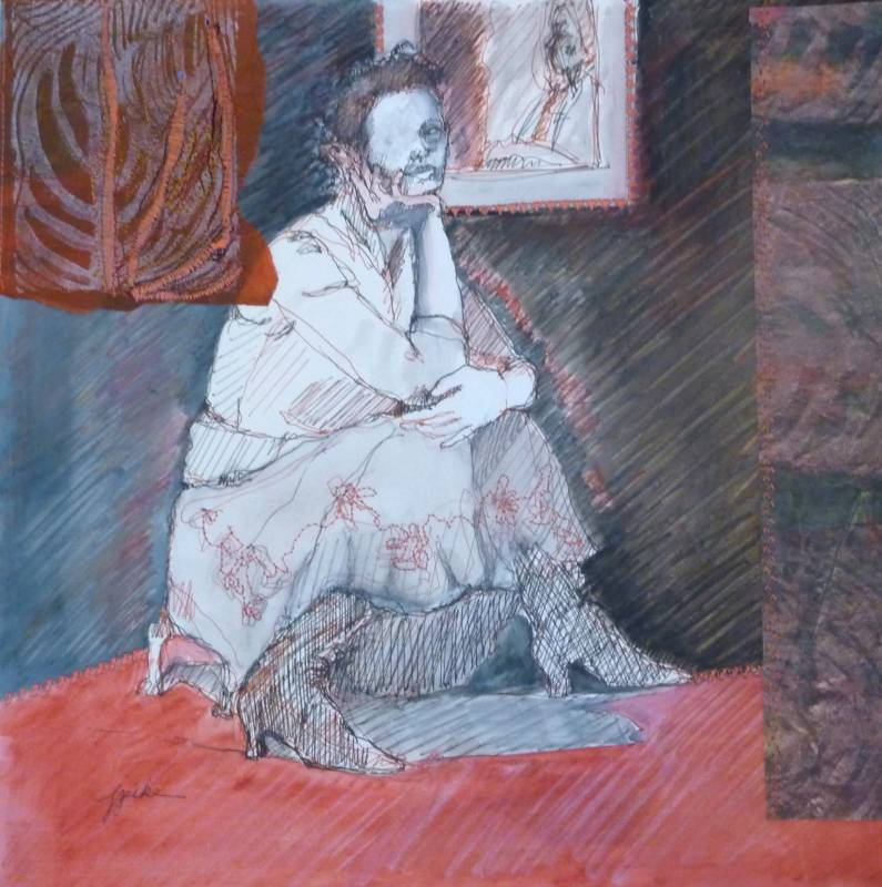The White Figures - Jacqueline