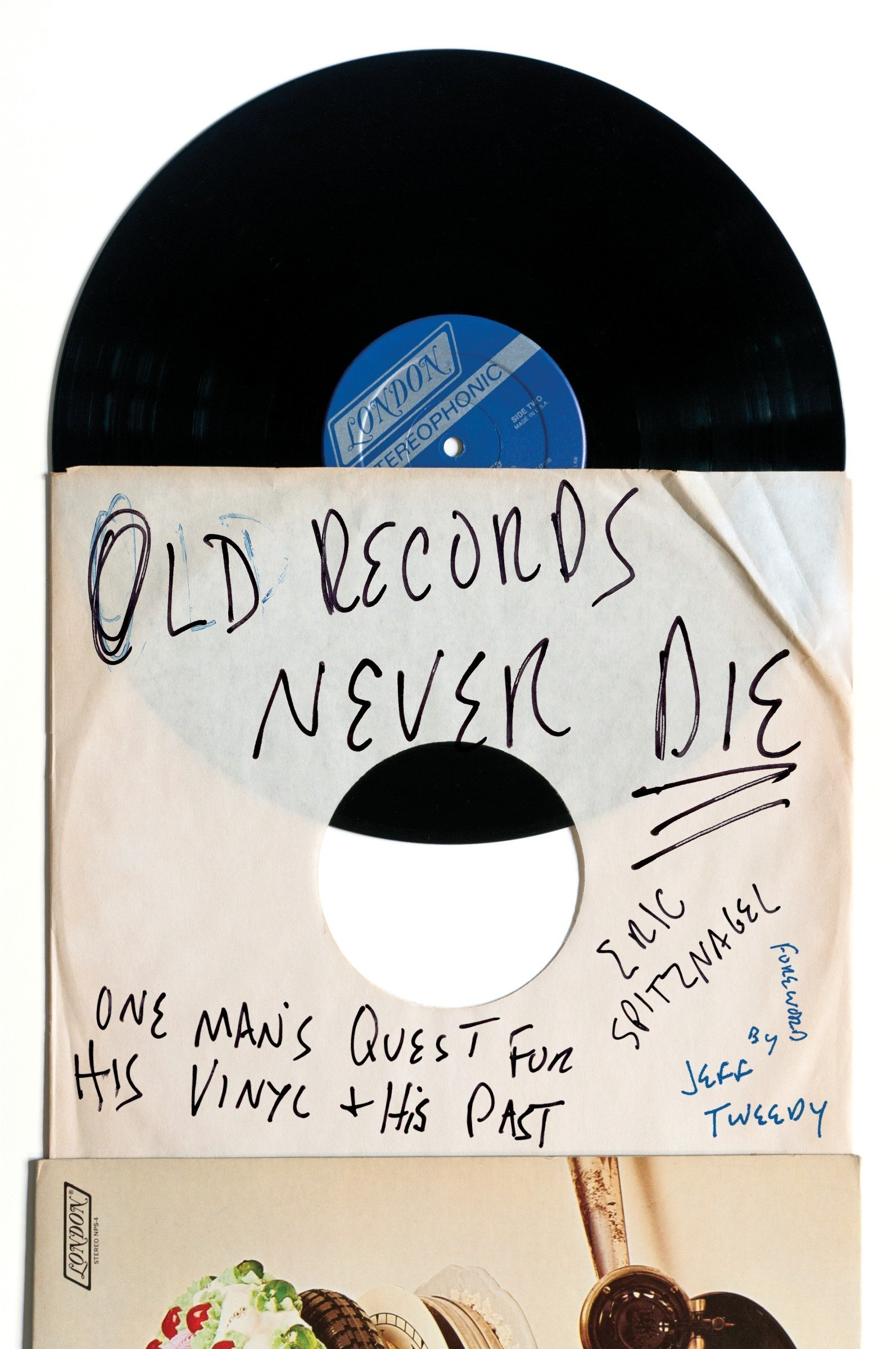 Spitznagel, OLD RECORDS NEVER DIE, US cover.jpg