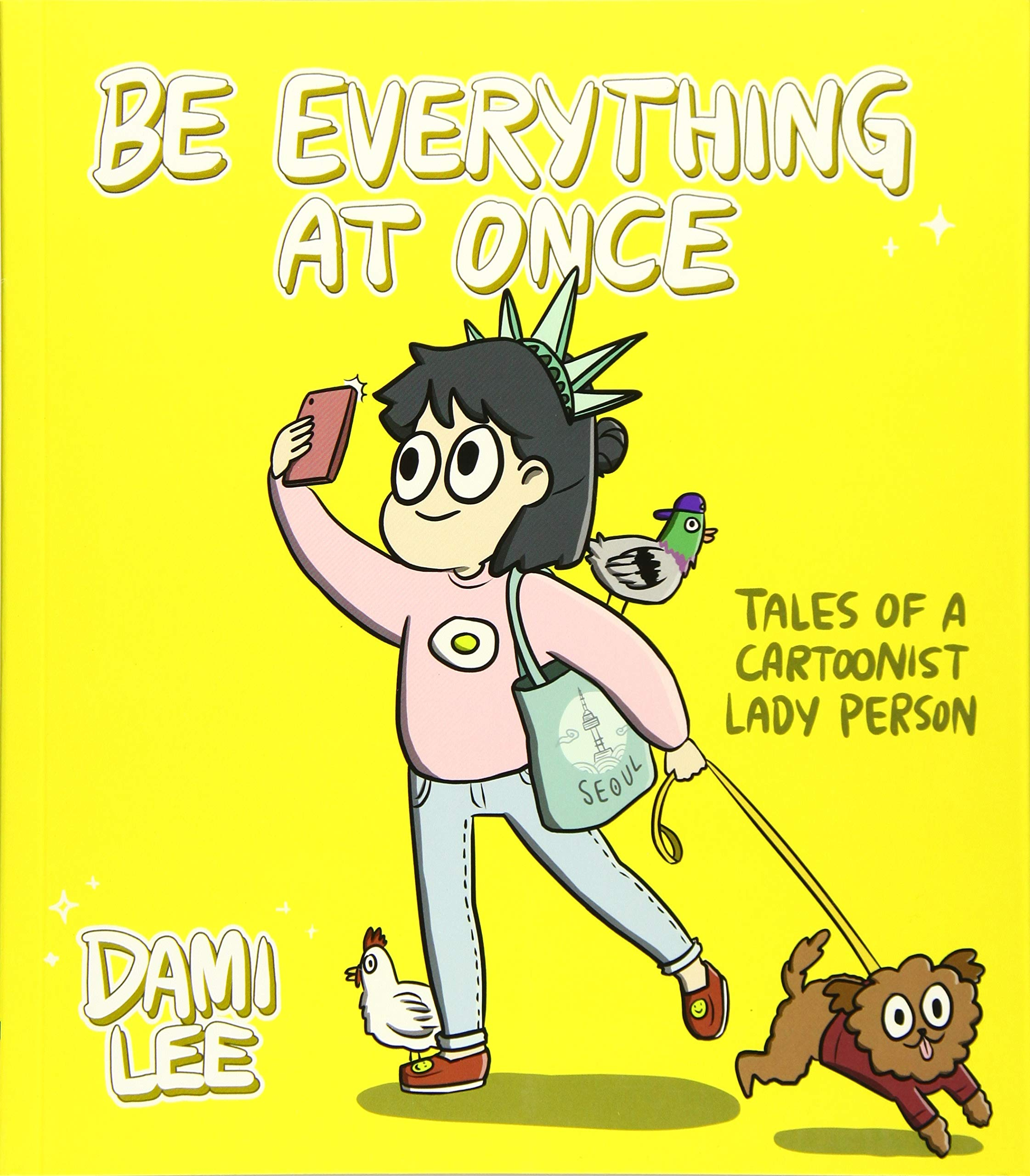 Lee, BE EVERYTHING AT ONCE, US cover.jpg
