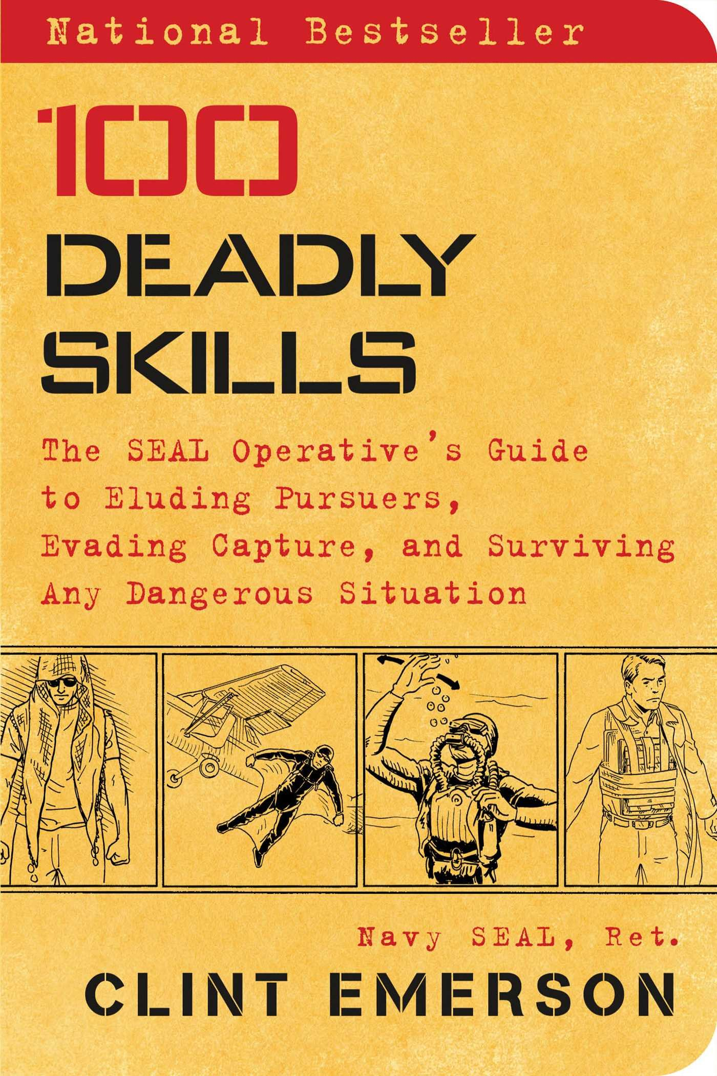 Emerson, 100 DEADLY SKILLS, US cover.jpg