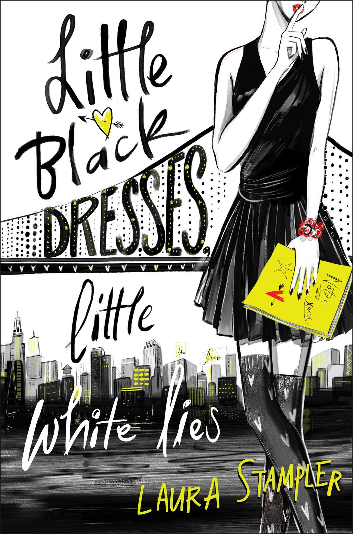 Stampler, LITTLE BLACK DRESSES, LITTLE WHITE LIES, cover.jpg