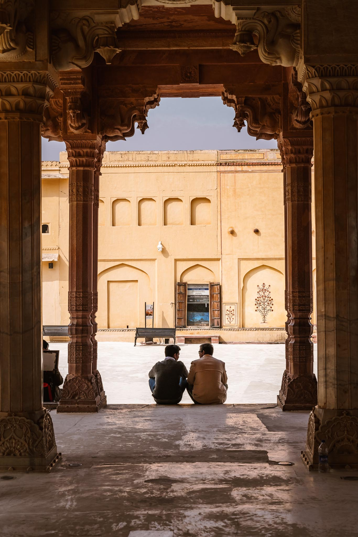 Tourists - Amber fort, Jaipur