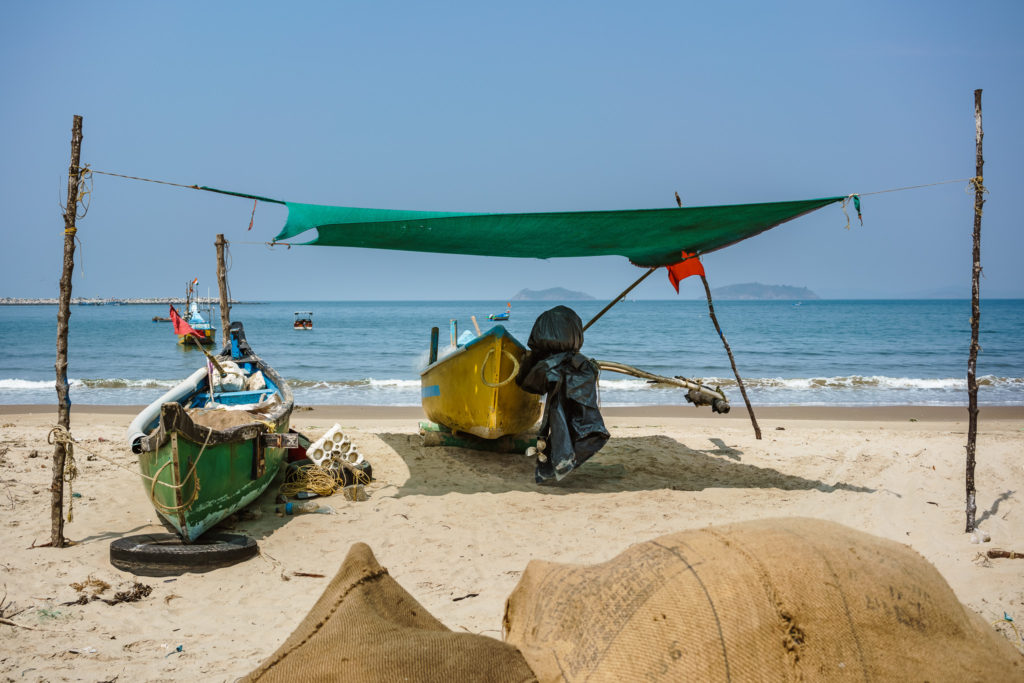 Fishing boats, Karnataka