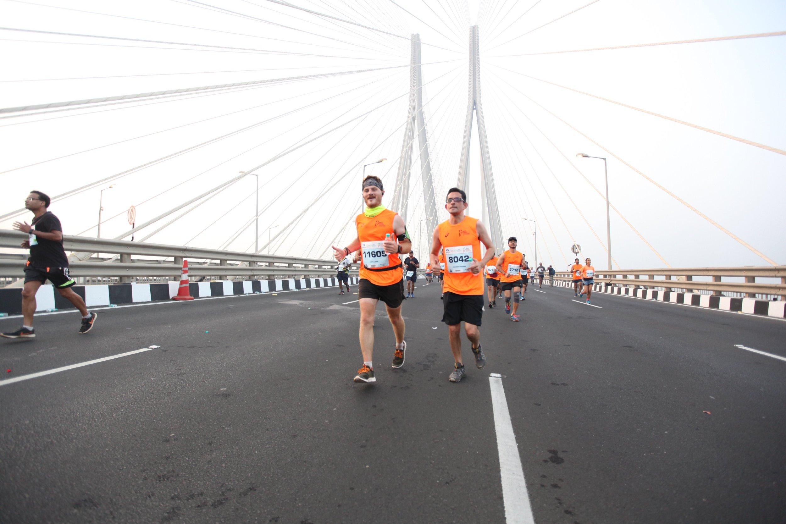 Worli sea link bridge