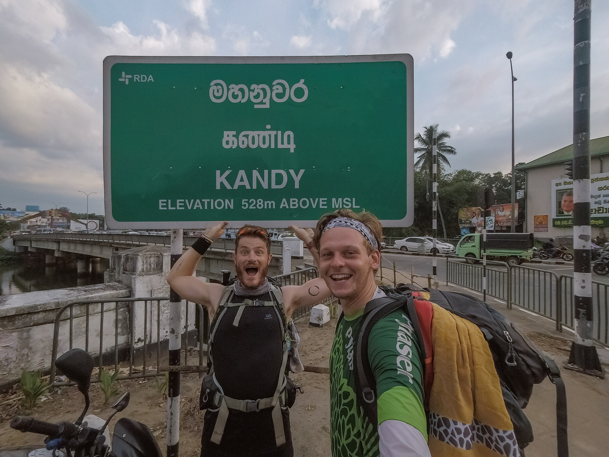 Arrival in Kandy