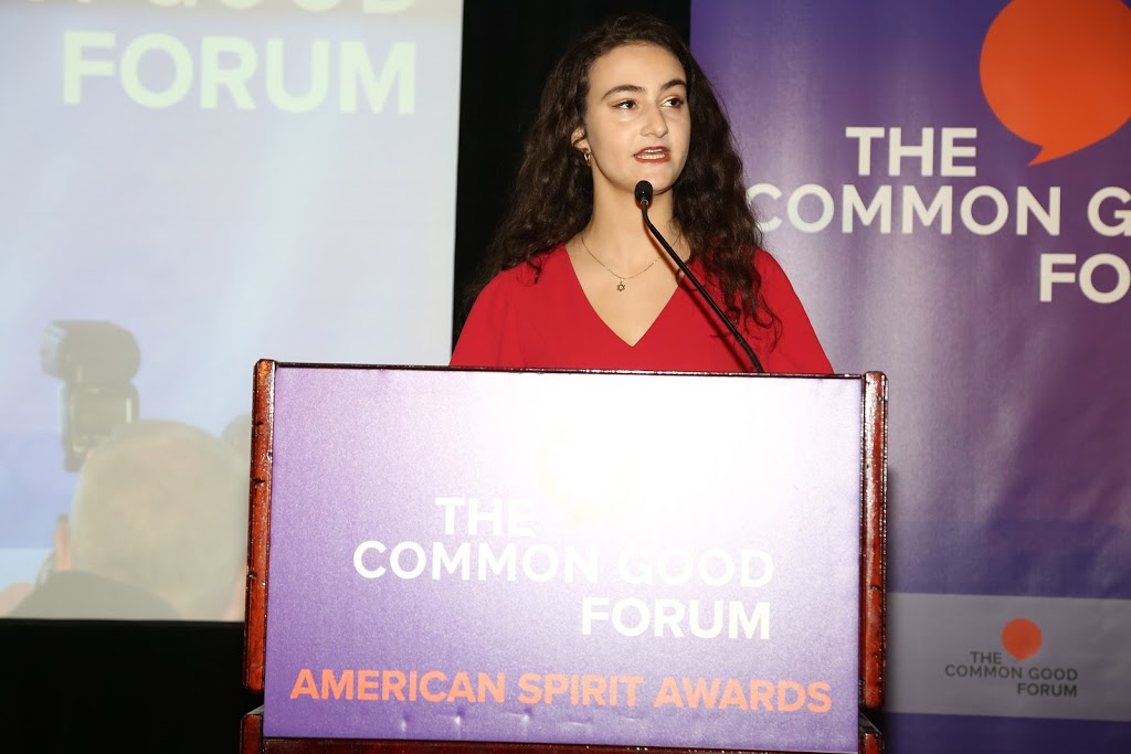 """Jamie Margolin - """"I don't want to normalize the fact that kids…are being awarded for fighting to prevent the end of the world…We, the youth, need your help. We need your action.""""Read More"""
