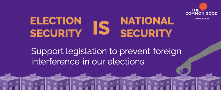 election security is national security the common good