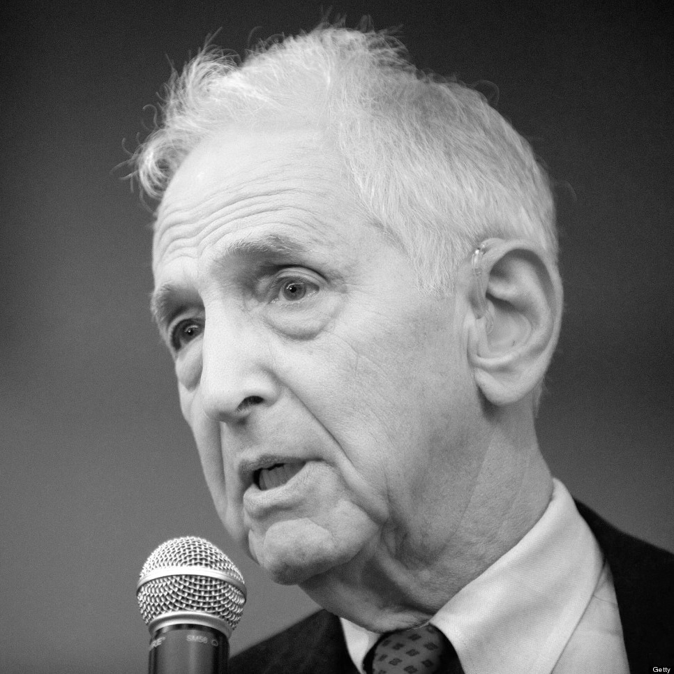 "Daniel Ellsberg - Author, ""leaker"" of the Pentagon Papers"