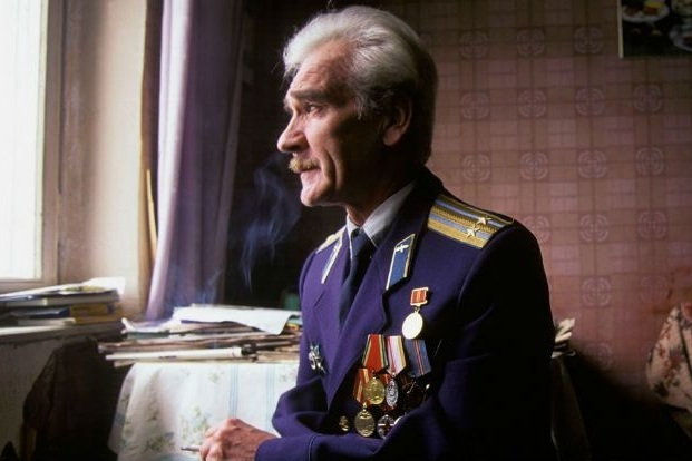 Pictured: a nuclear weapons base in the USSR, Stanislav Petrov