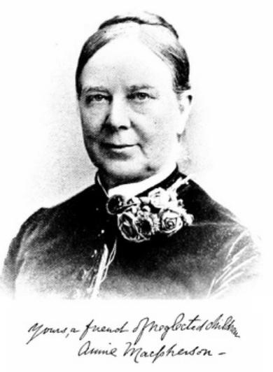 Annie Parlane MacPherson  (1833 – 1904)