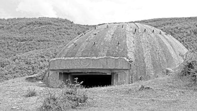 One of Hoxha's bunkers