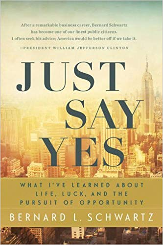 Schwartz's book,  Just Say Yes
