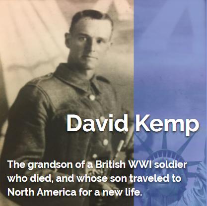 David Kemp My American Story