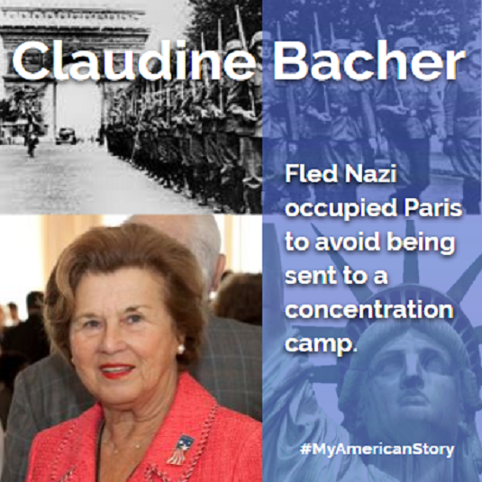Claudine Bacher  My American Story