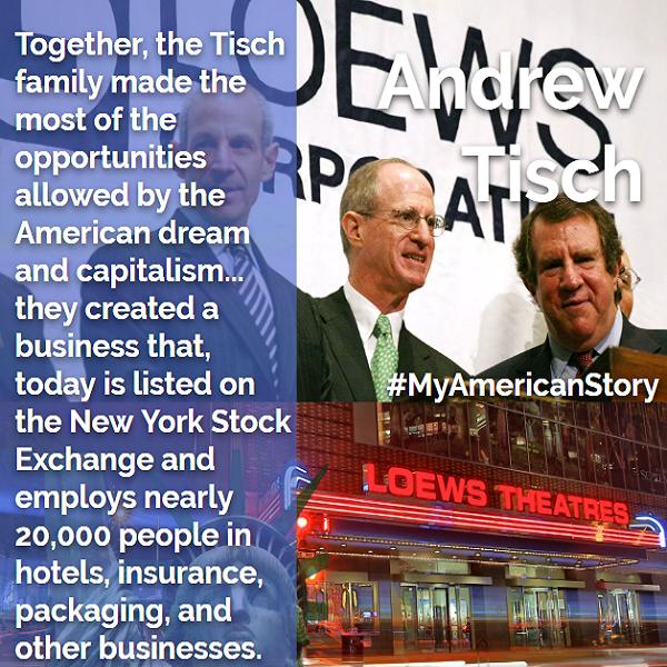Andrew Tisch My American Story