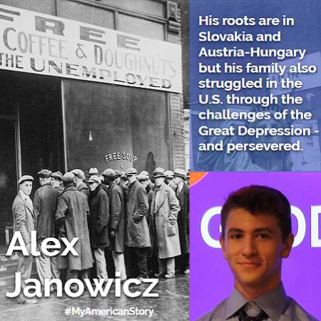Alex Janowicz  My American Story