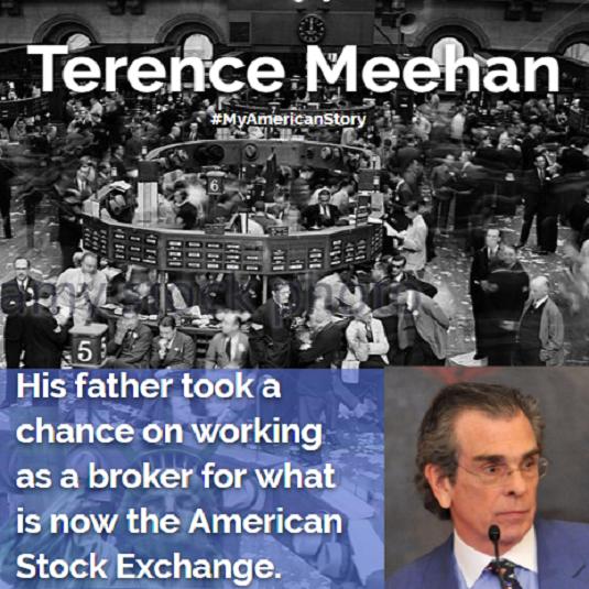Terence Meehan  My American Story