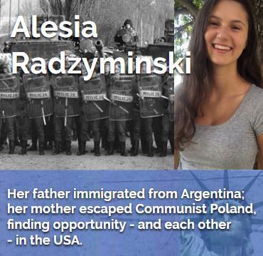 Alesia Radzyminski My American Story