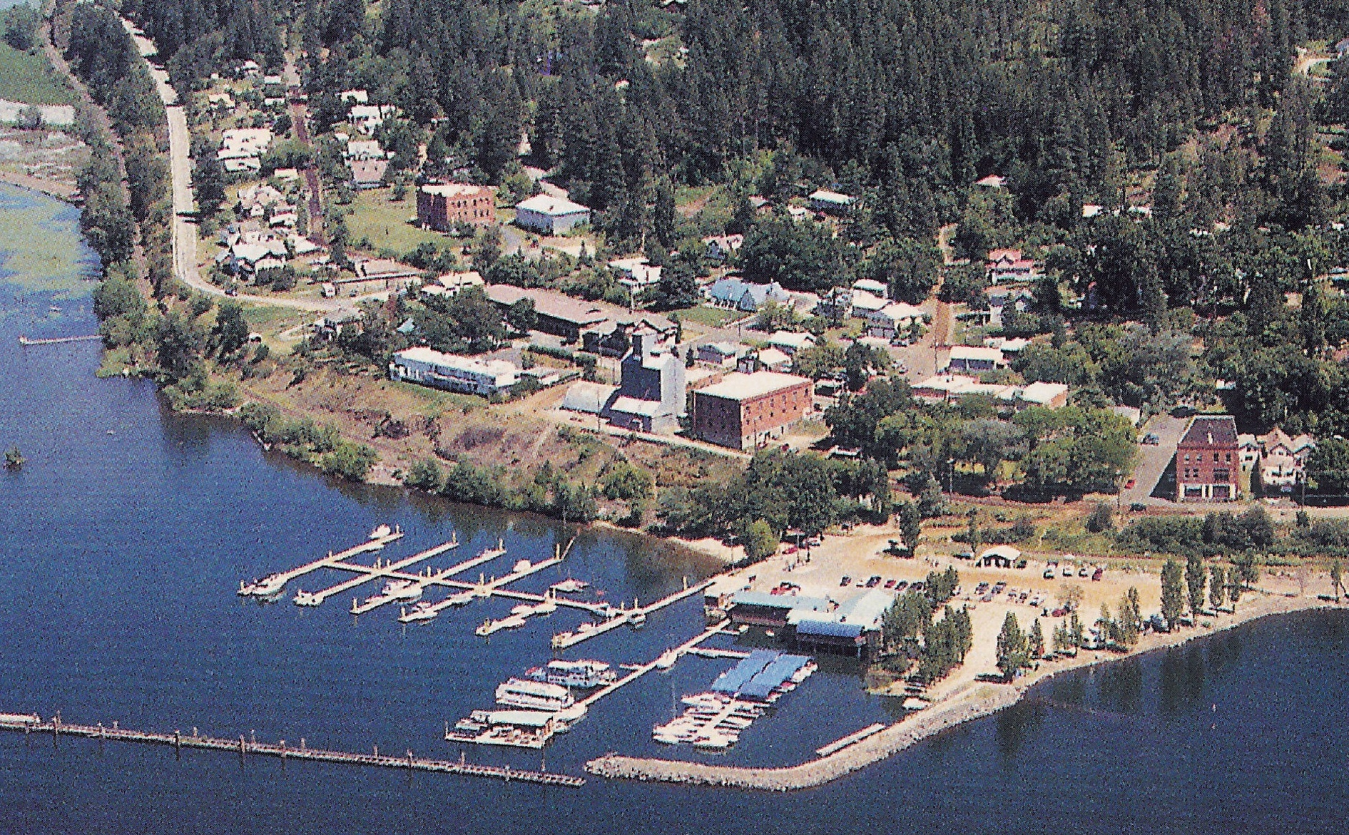Arial View of the City of Harrison