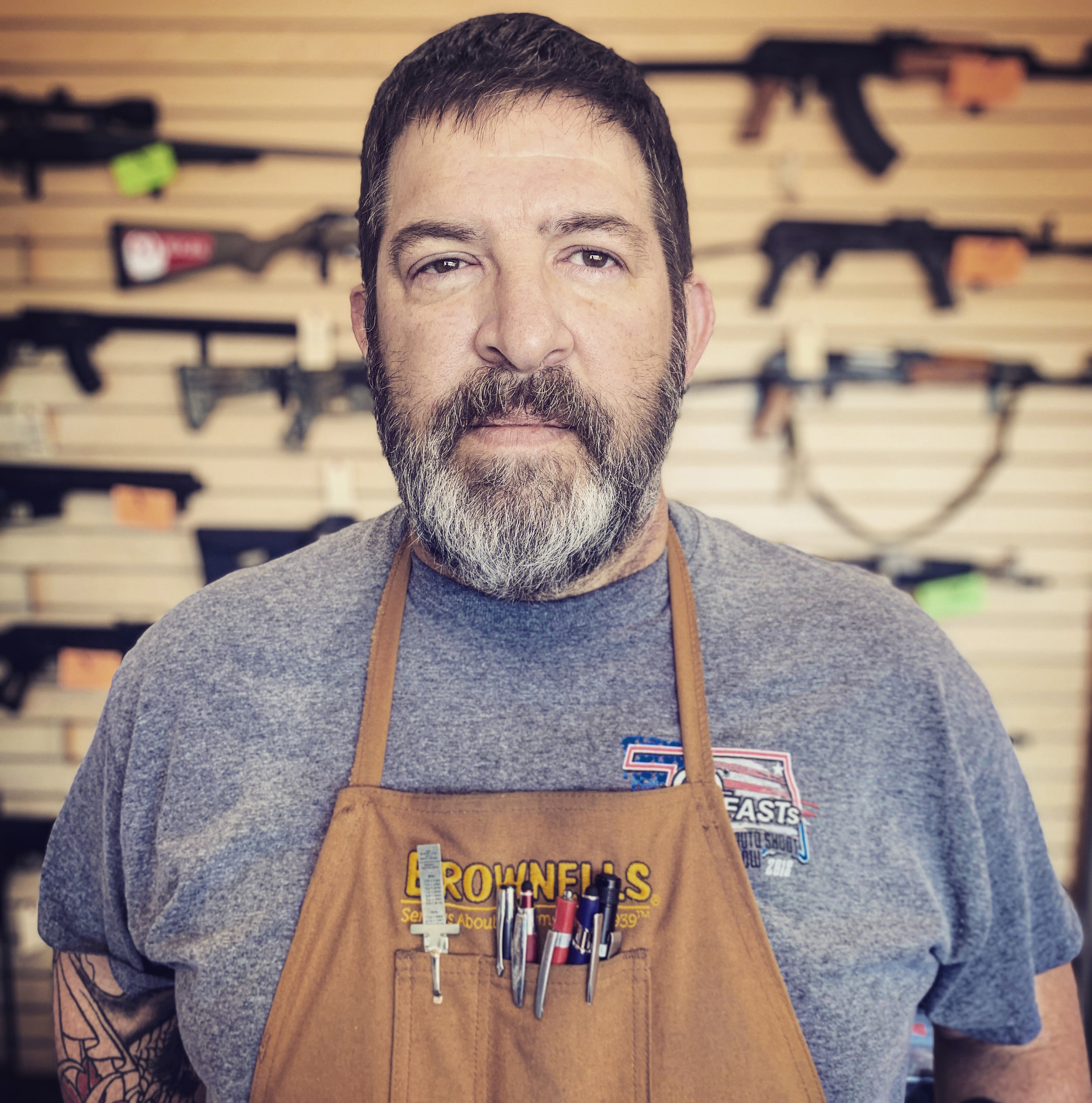 thomas w gowen - I was always interested in guns as a kid. I grew up hunting pheasants and rabbits in Nebraska so guns were a normal part of life. I was a mechanic in the automotive industry for over 30 years. In 2006, my house burned down and I had an AK left in my safe and through a gun dealer buddy met Charlie Jacques. He bought what was left of it for $35 and rebuilt it. That got my interested in building and I started building as a hobby. I knew it was time to make the passion a full time gig and decided to get out of the automotive industry and get my FFL license and start manufacturing full time.