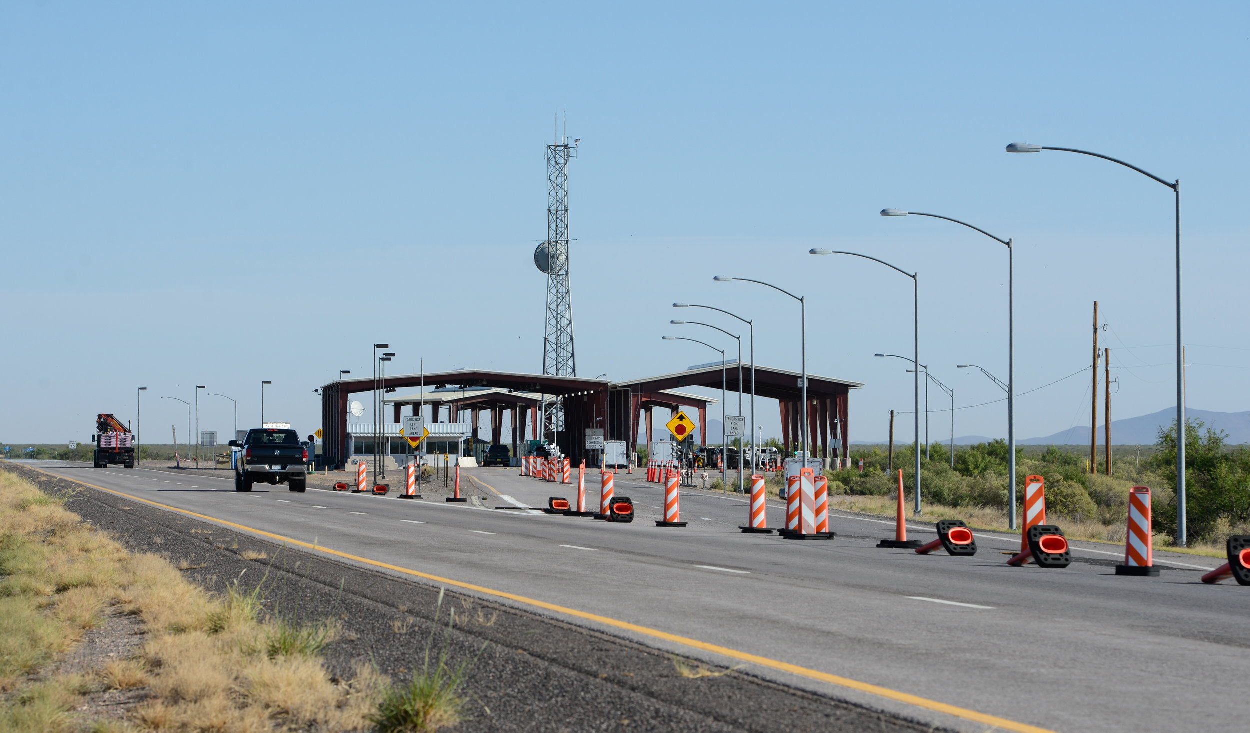Has closing of Border Patrol checkpoints increased crime?
