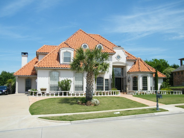 Spanish Style Home Roof