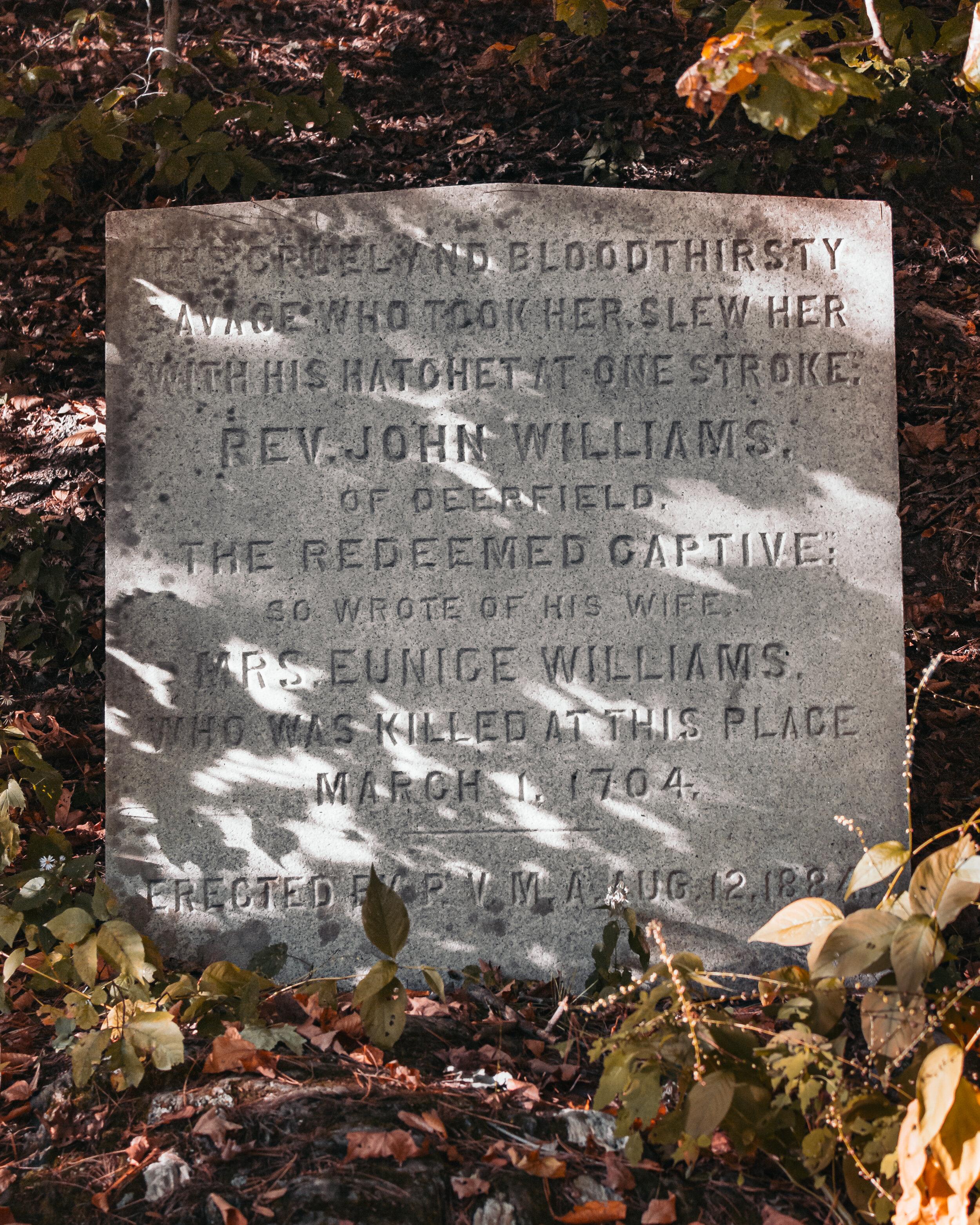 Eunice Williams Covered Bridge Marker.jpg