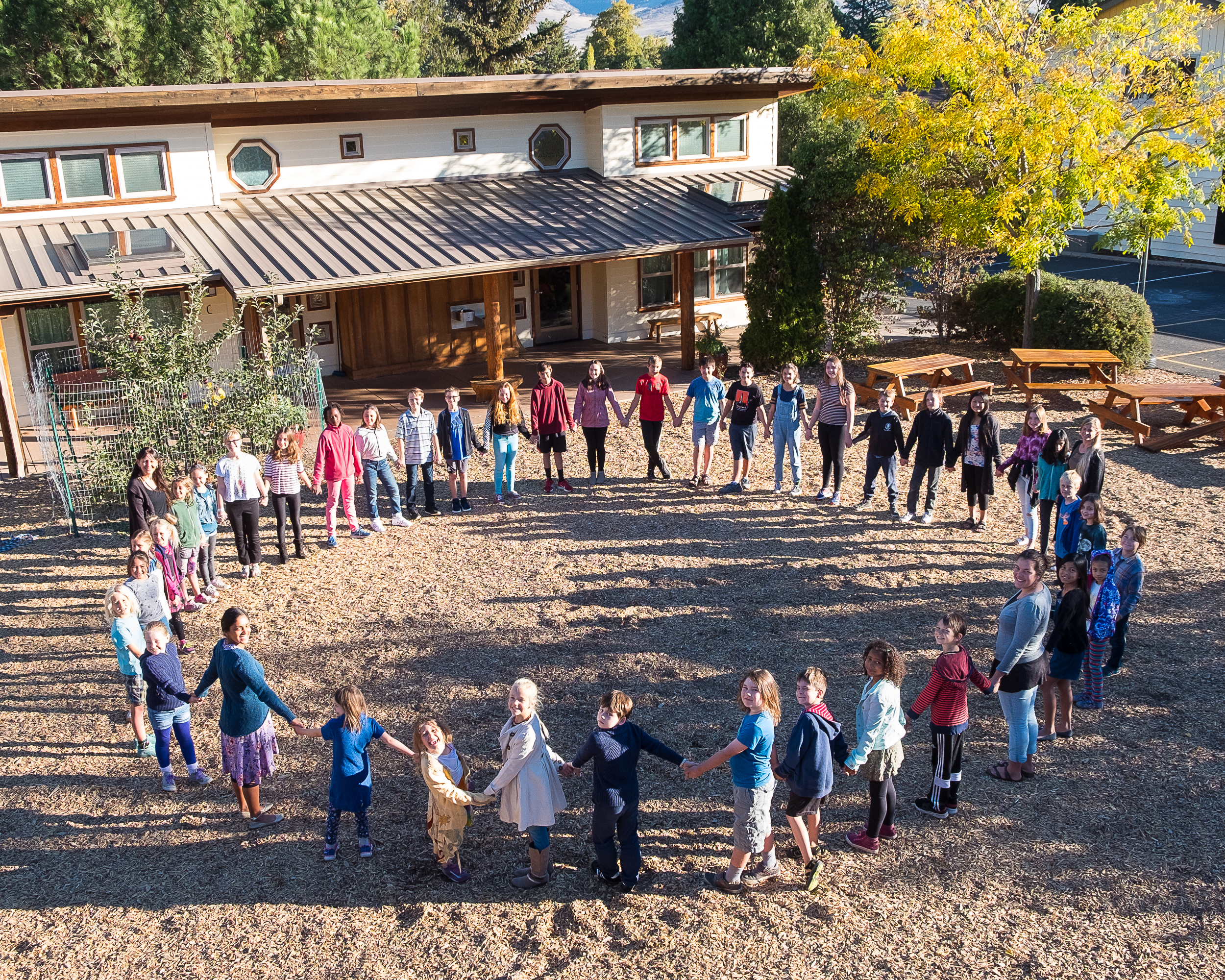 Our Giving Culture - Without philanthropy our school wouldn't exist. As a non-profit organization The Siskiyou School relies on fundraising to meet our annual budgetary goals as well as raising money for capital campaigns. It's the giving culture that started our school and we ask everybody to contribute to pay it forward as the visionary founders of the school did.