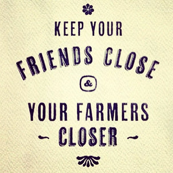 Know where your food comes from! Thanks @croftersorganic for the great reminder 💜🌾 #biodynamic #organic #soilhealth #soulfood #farmersarefriends