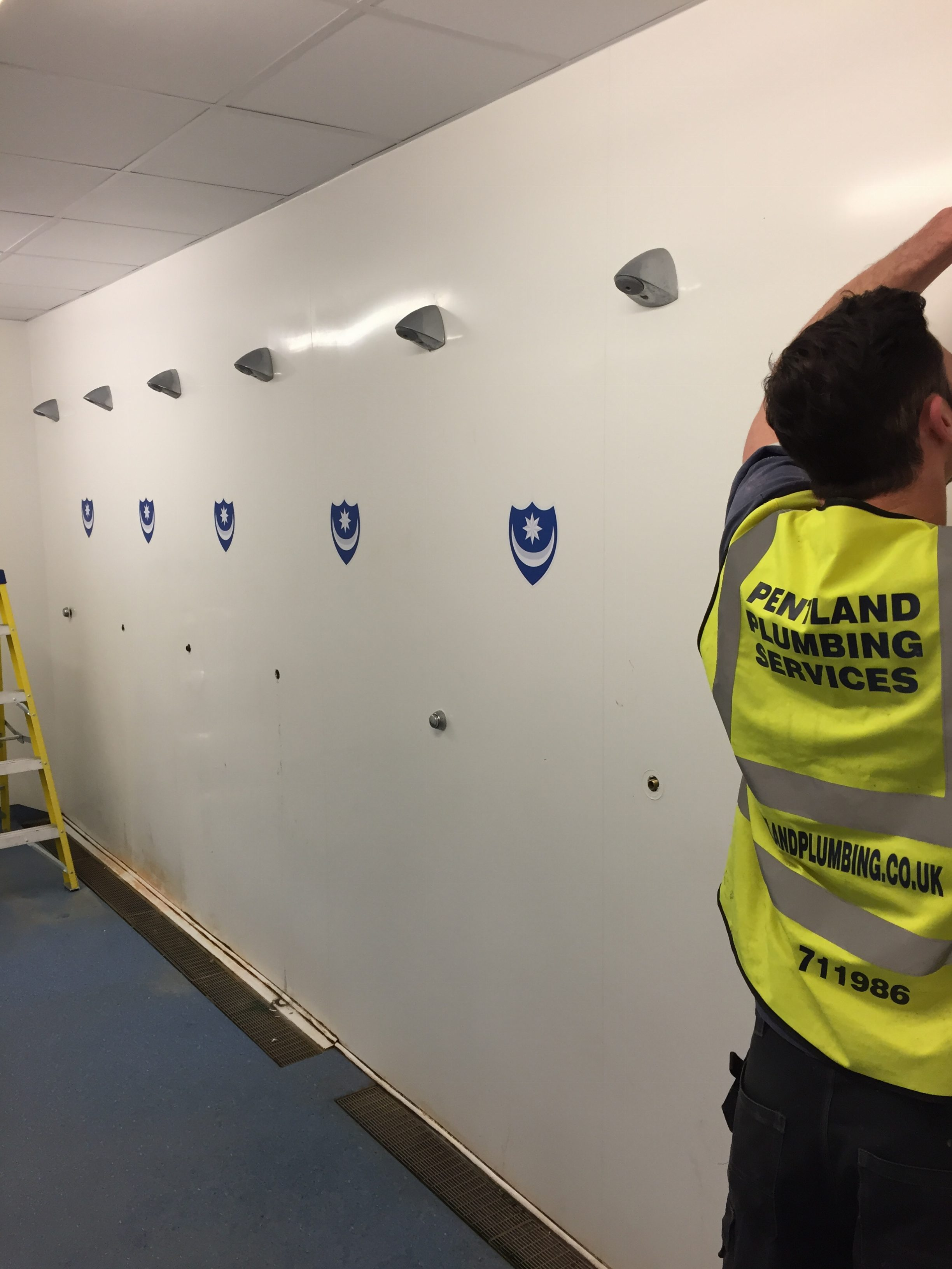 Pentland Plumbing are able to take on all aspects of commercial contracts