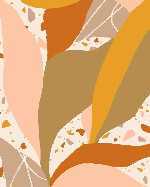 Patterns are super fun to draw. 🍂Close up of collateral branding for Sol Summit.