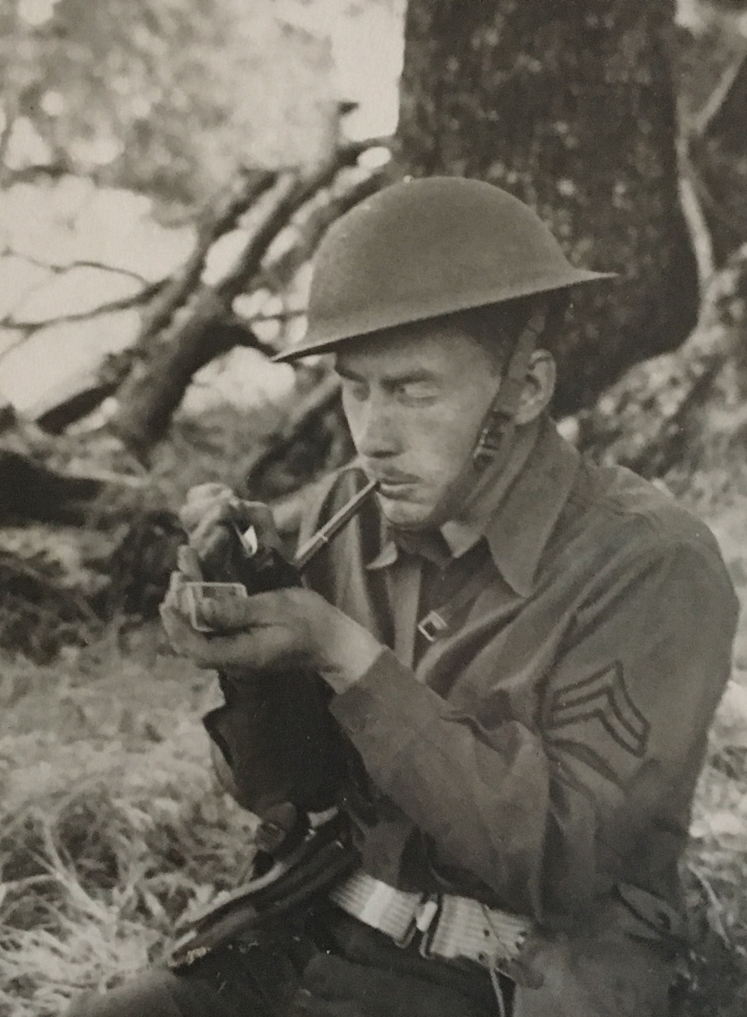 Fred Blood - WWII - Army