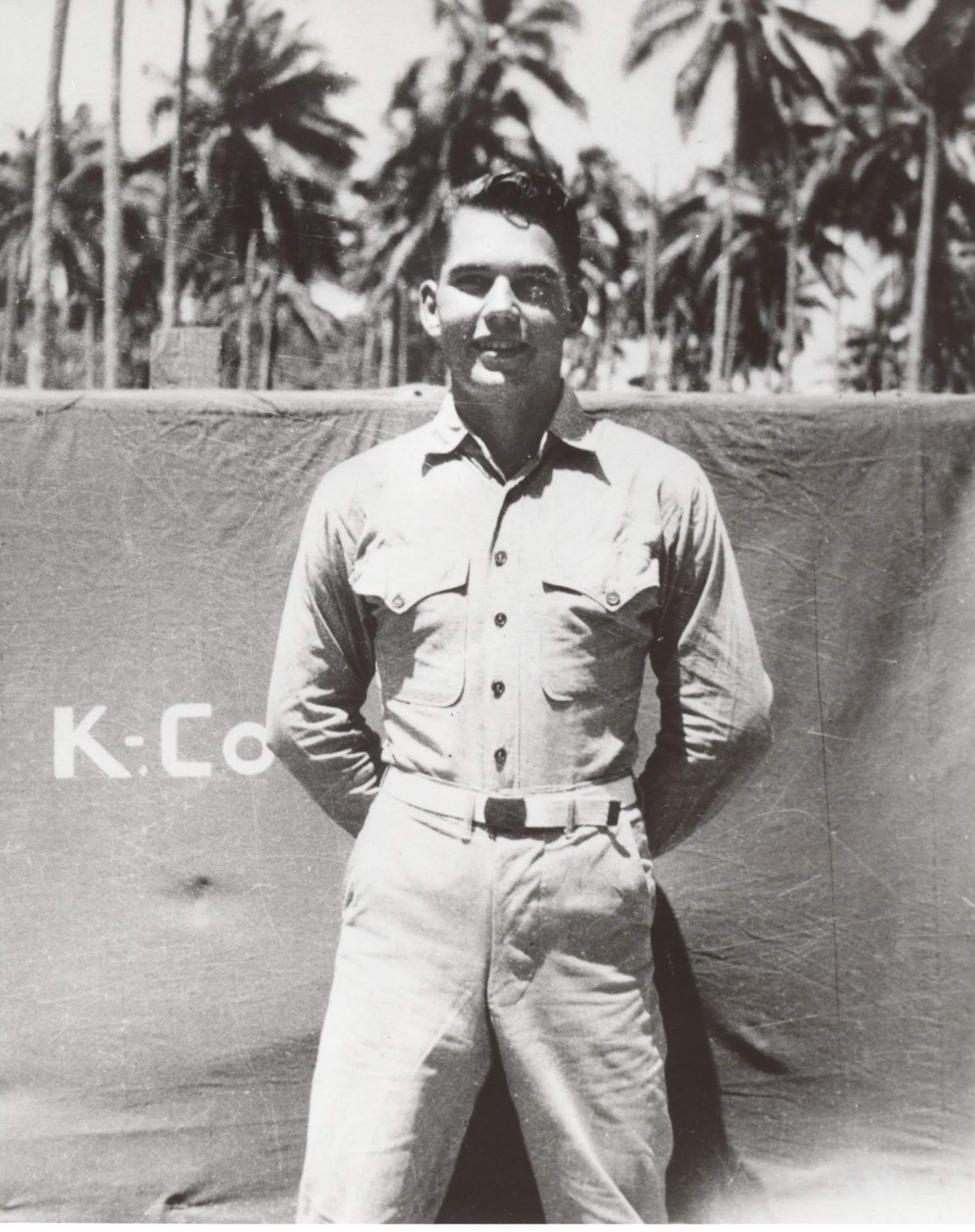 Chuck Meacham - WWII - USMC