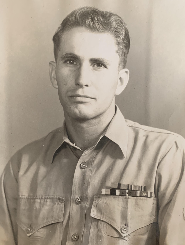 Bob Robinson - Korea - Marine Corps