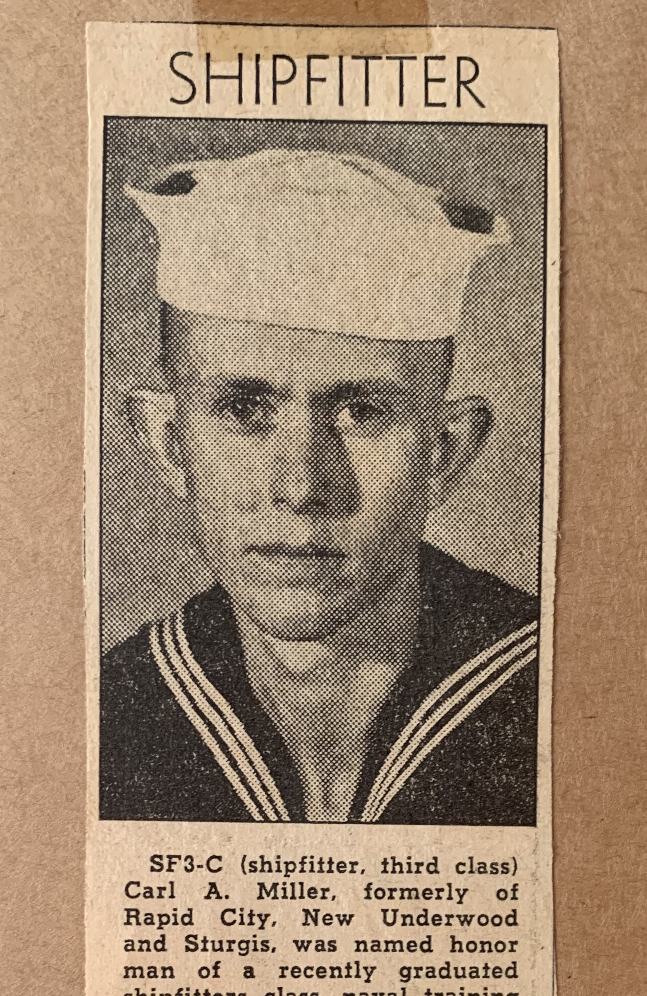 Carl Miller - WWII - Navy