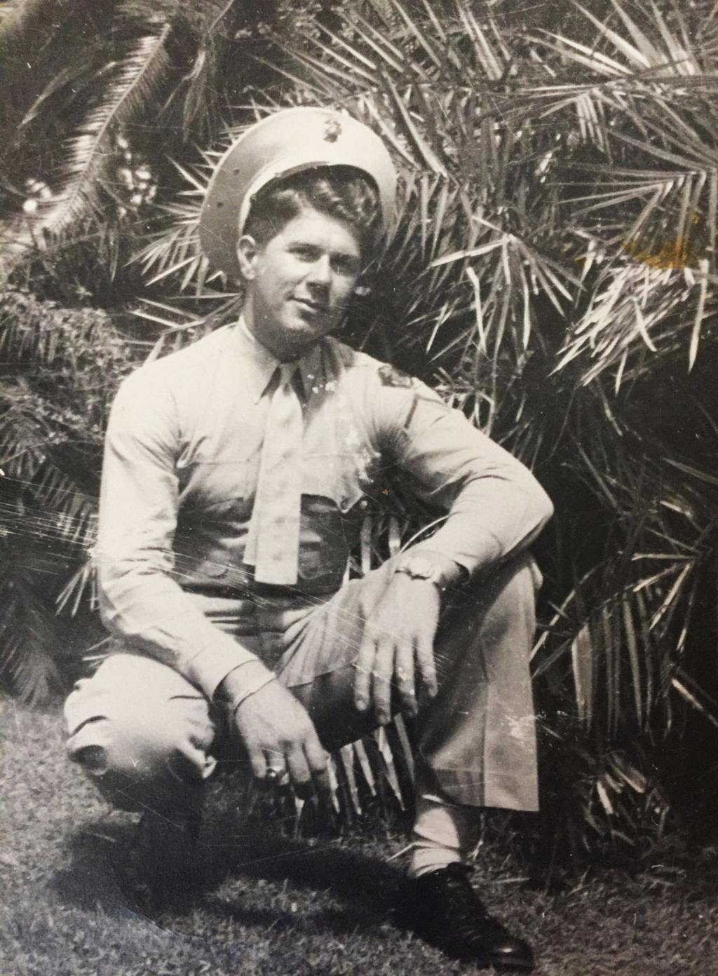 Don Browning - WWII - USMC