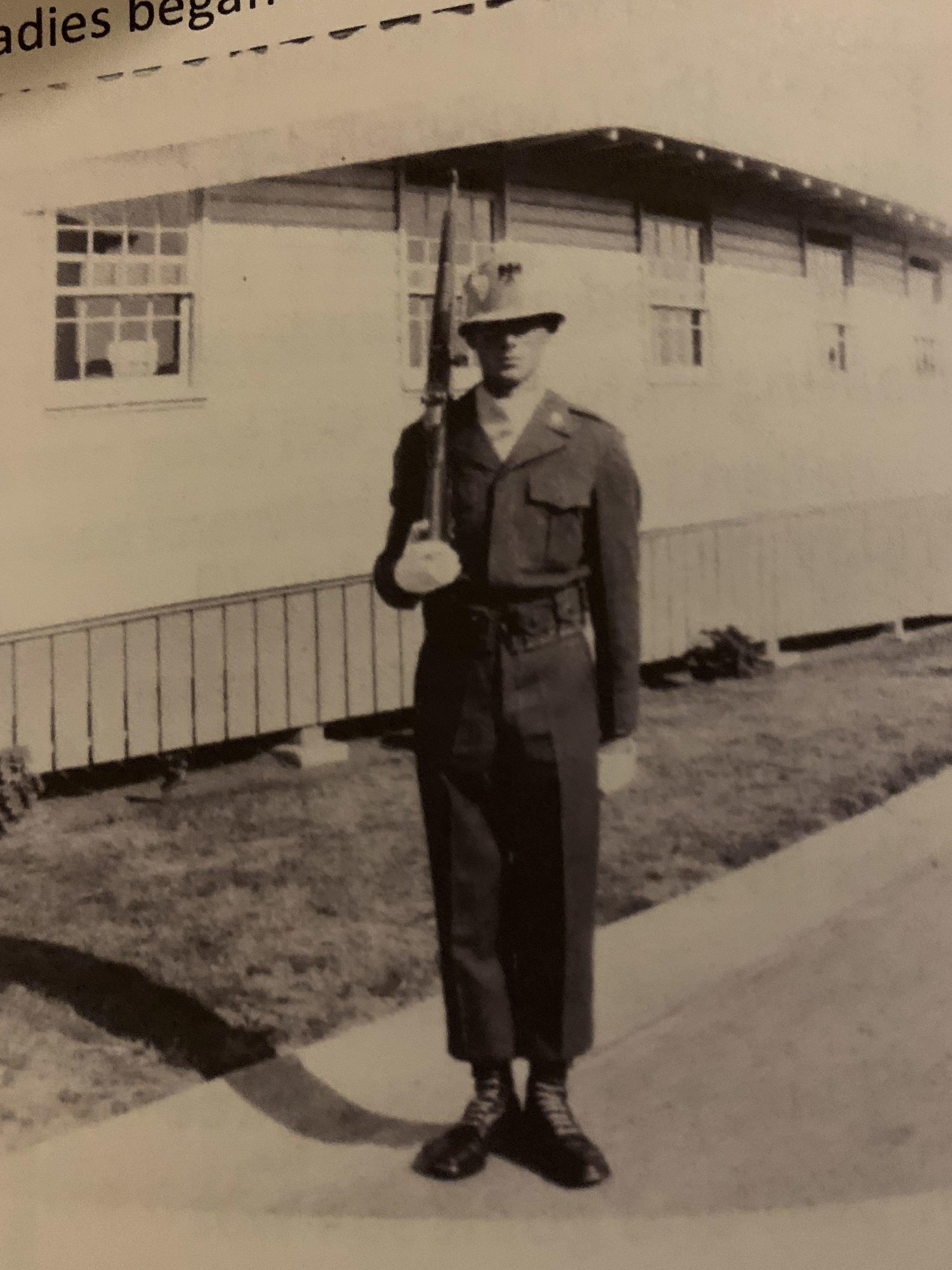 John Van Belle - Korea - Army