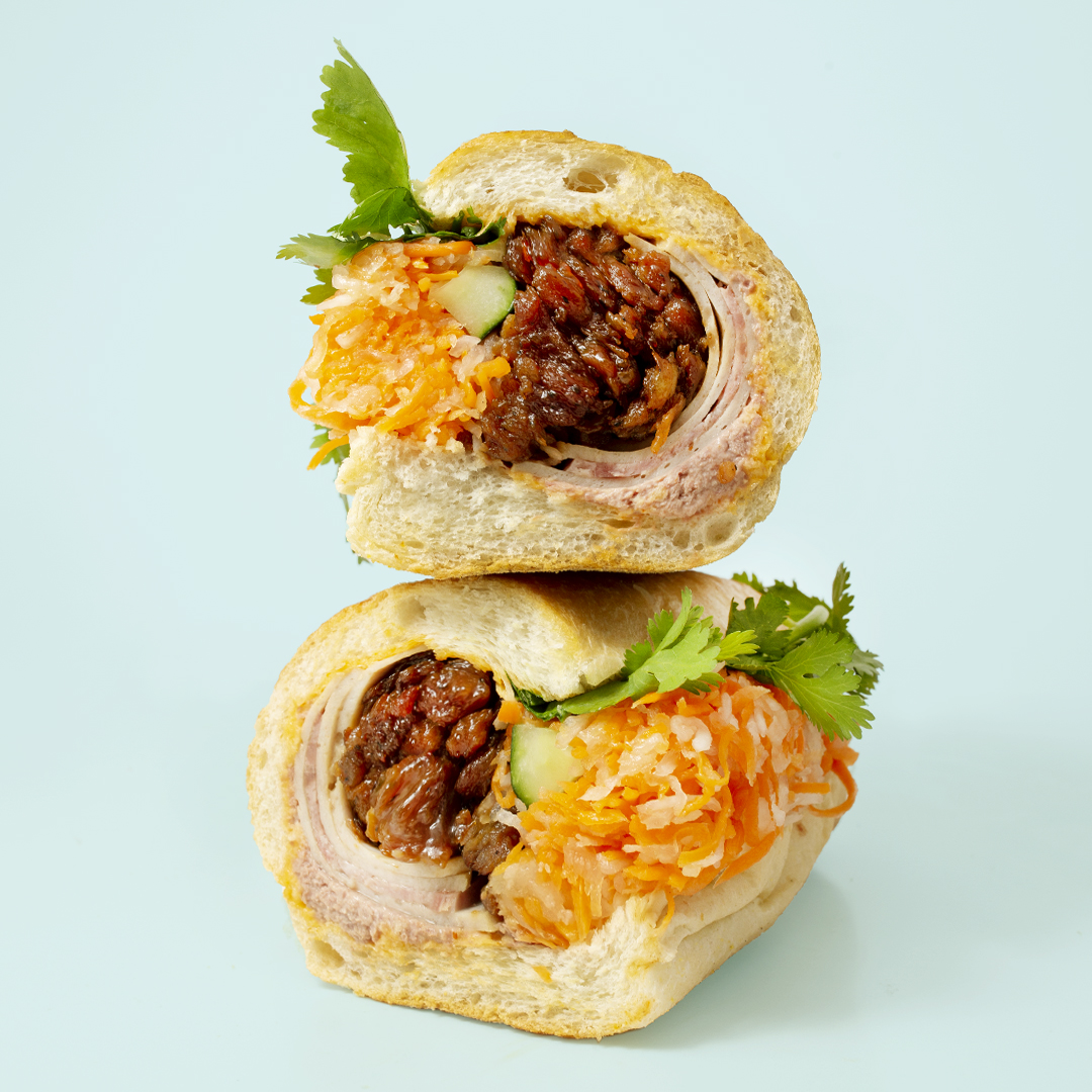 NOW OPEN! Midtown - Now you can get your JoJu banh mi or bowl at 555 Fifth Avenue. Our entrance is on 46th Street (between Fifth and Madison), conveniently located just a few blocks from 42 St Grand Central (4, 5, 6, 7), 47-50 Sts Rockefeller Center (B, D, F, M) and Bryant Park (B, D, F, M).