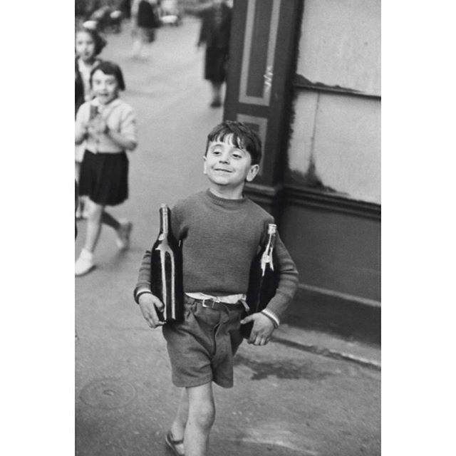 HENRI CARTIER-BRESSON (1908-1999), Rue Mouffetard, Paris, 1954/1999, Gelatin Silver Print, 20 x 16 inches, Signed in black ink, l.r. and also blind stamped l.l. 🔵 RICHARD PRINCE (b. 1949), Untitled (Wink), c. 1948, Chromogenic Print, 20 x 24 inches, Signed and inscribed l.r.🔵 All artwork placed by GLAM, all artwork copyrighted by the Artist  #gregglaneartmanagement #katelaneferraro #modernandcontemporaryart #phabulousphotography #jamesthomasinteriors