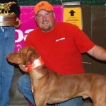 2009 Bullet Wins the Midwest vizsla futurity