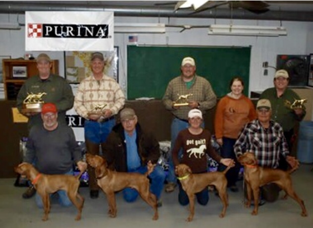 2011 kimber takes midwest vizsla futurity second runner up