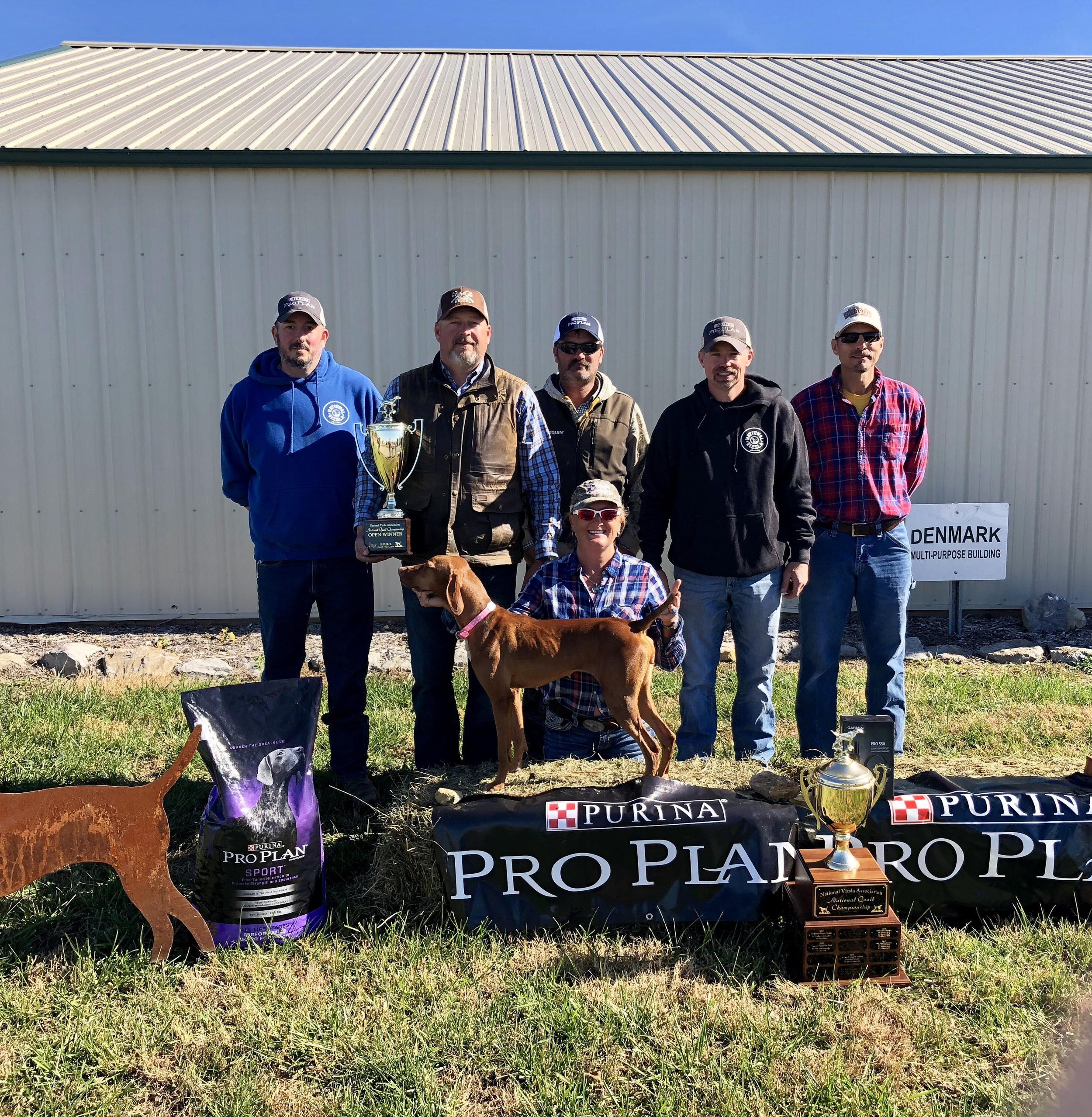 2018 nva quail open champion Smudge