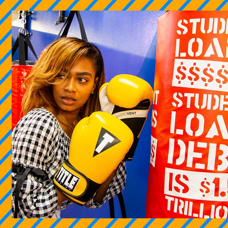 Knock out your financial aggression and learn how to champion your money in our Debt Boxing Gym. -