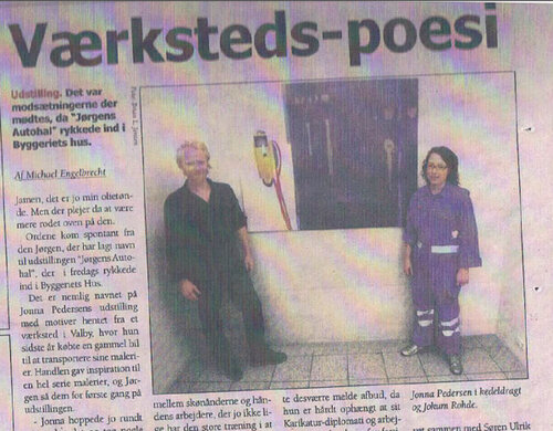 FREDERIKSBERG BLADET - 2006Article about