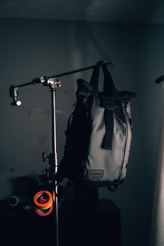 Kamera-Rucksack prvke hängend
