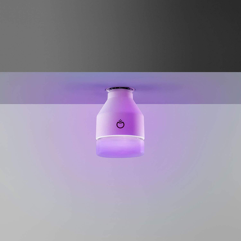 LIFX smarte WLAN Glühbirne an der Decke